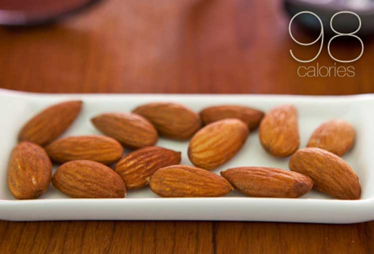 Effective usefull Almonds Calories- The World's Healthiest Foods.