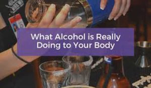 alcohol make you gain weight in your stomach