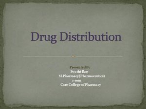 drugs Distribution