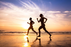 Exercising for health