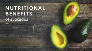 Nutrition facts for avocado