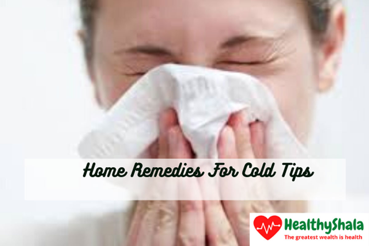 10 Natural And Home Remedies For Cold That Works 3